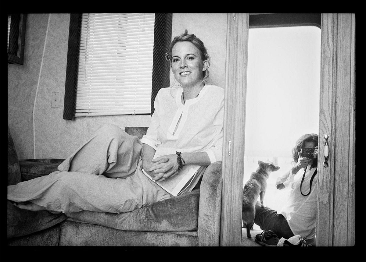 Laurel in Trailer